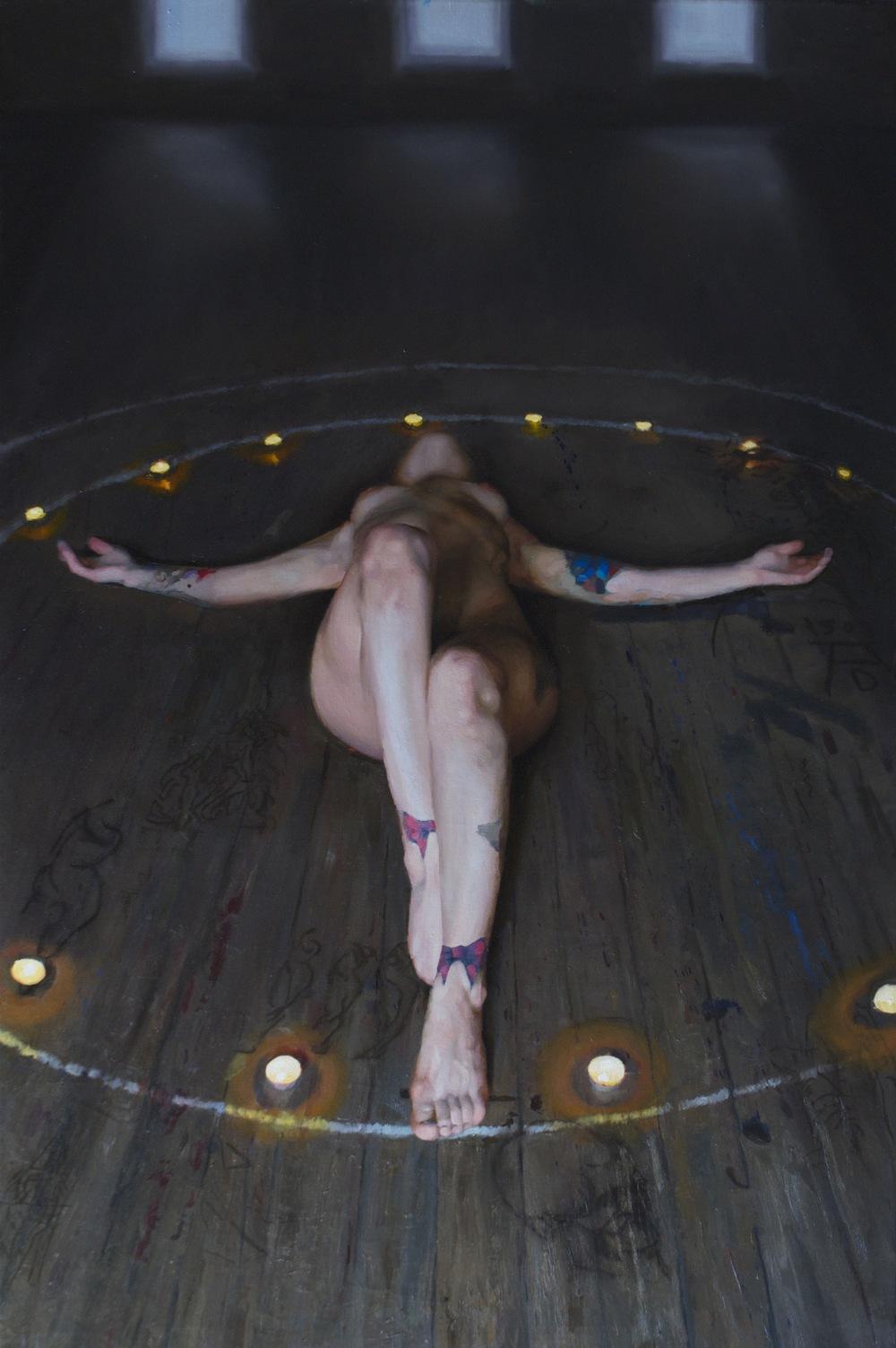 """Ritual (52"""" x 38"""")"""