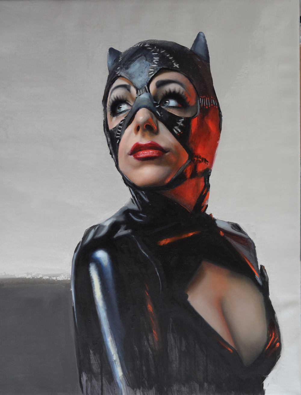 "Catwoman (18"" x 23"" )"