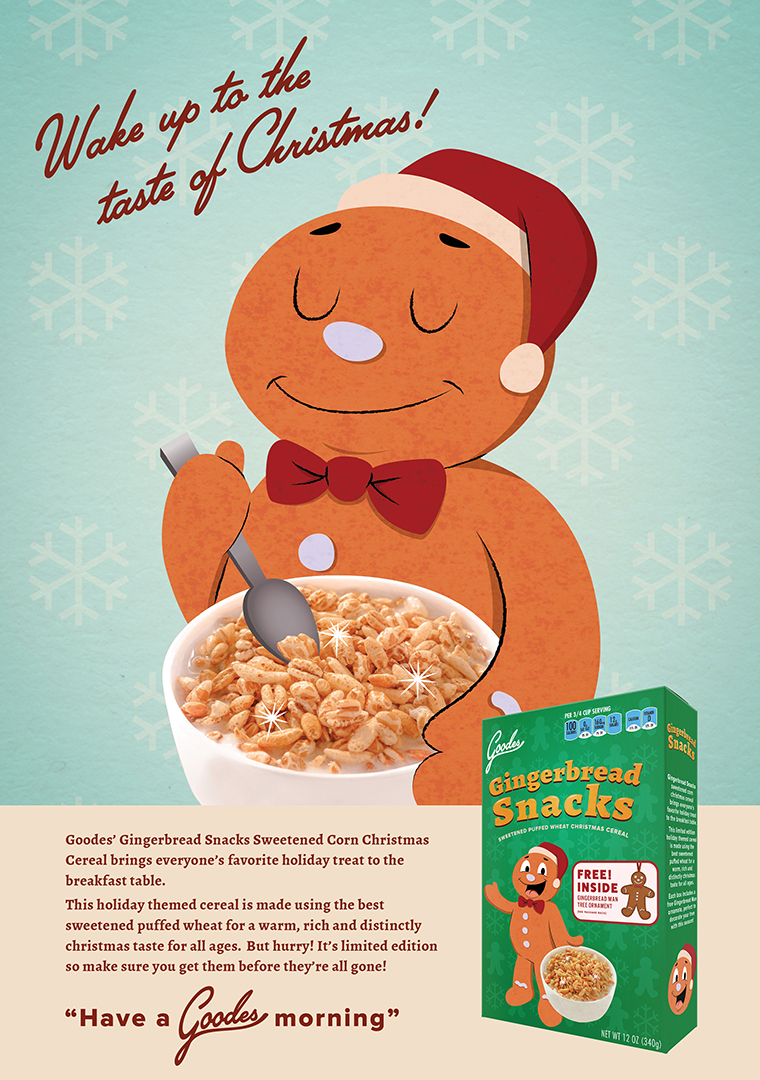 Kid's Cereal Ad Concept 2