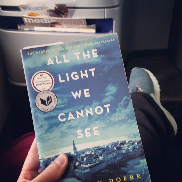 Best fiction of the year: All the Light We Cannot See!