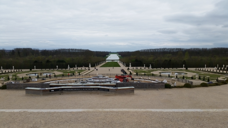 And facing the other direction: the gardens