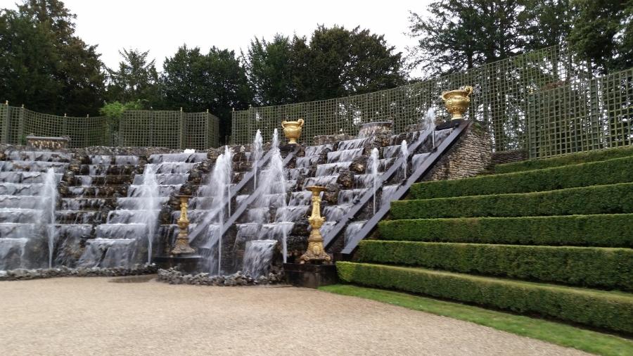 Surprise! Hidden wall of fountains.
