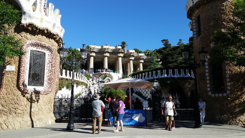Entrance to Park Guell