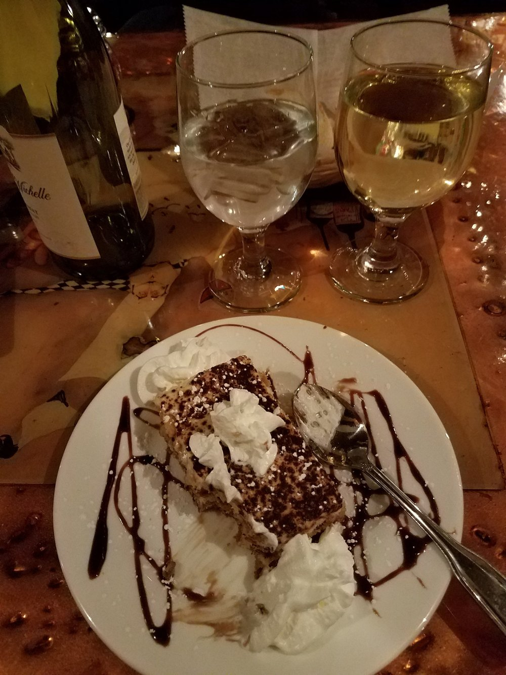 This tiramisu played a small part in my decision to move here.