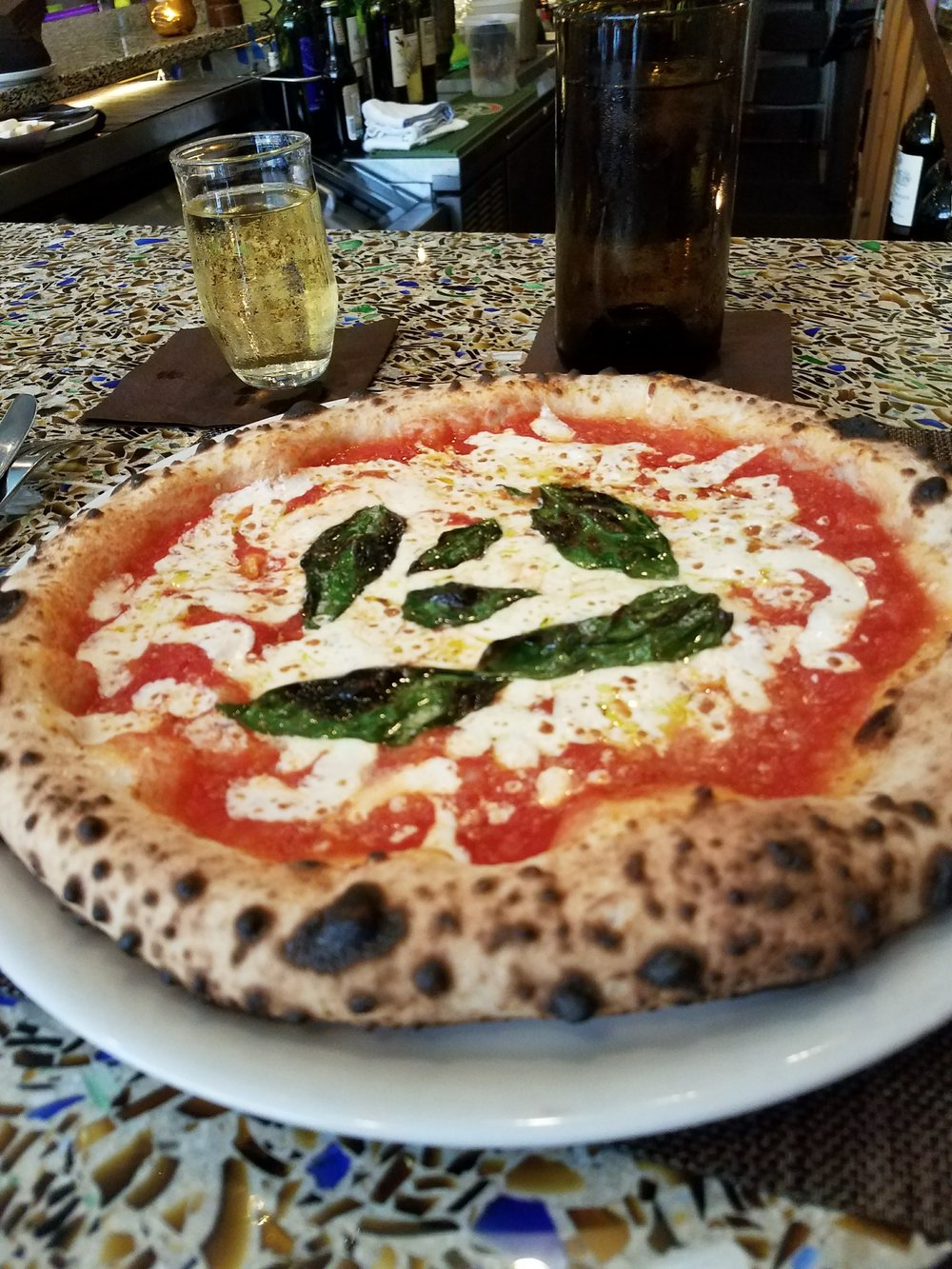 Side note: I had the perfect Saturday afternoon at this pizza place, eating the freshest and best pizza I've had since Italy, drinking too much wine and chatting with the bartender about the merits of the  Handmaid's Tale  novel versus the book.