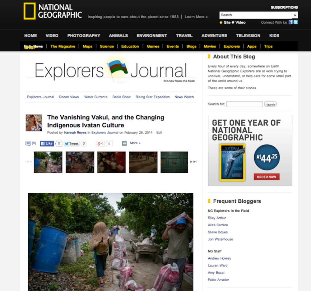 Nat Geo Explorer's Journal