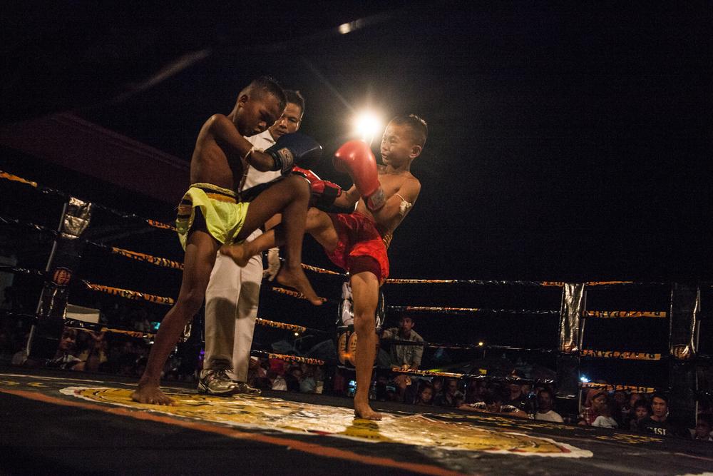 Hannah Reyes Morales - Cambodia Child Boxers