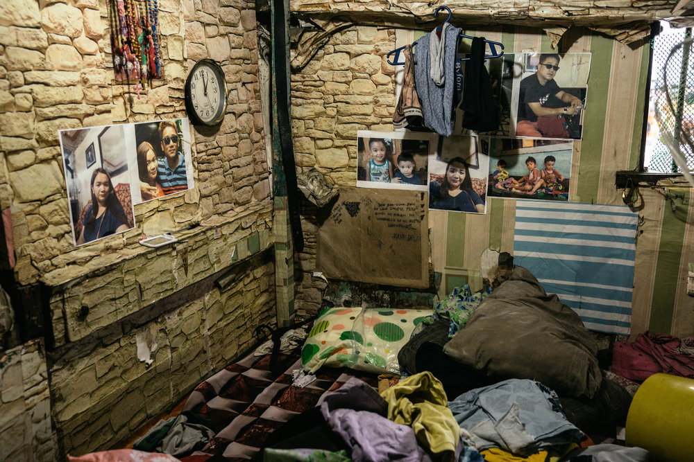 An inmate's cell is seen in disarray after officials searched it for contraband in the Manila City Jail in Manila, Philippines on November 1, 2018. In the Philippines, men with pending cases spend months, sometimes years, in overcrowded cells waiting to be charged, sentenced, or tried.