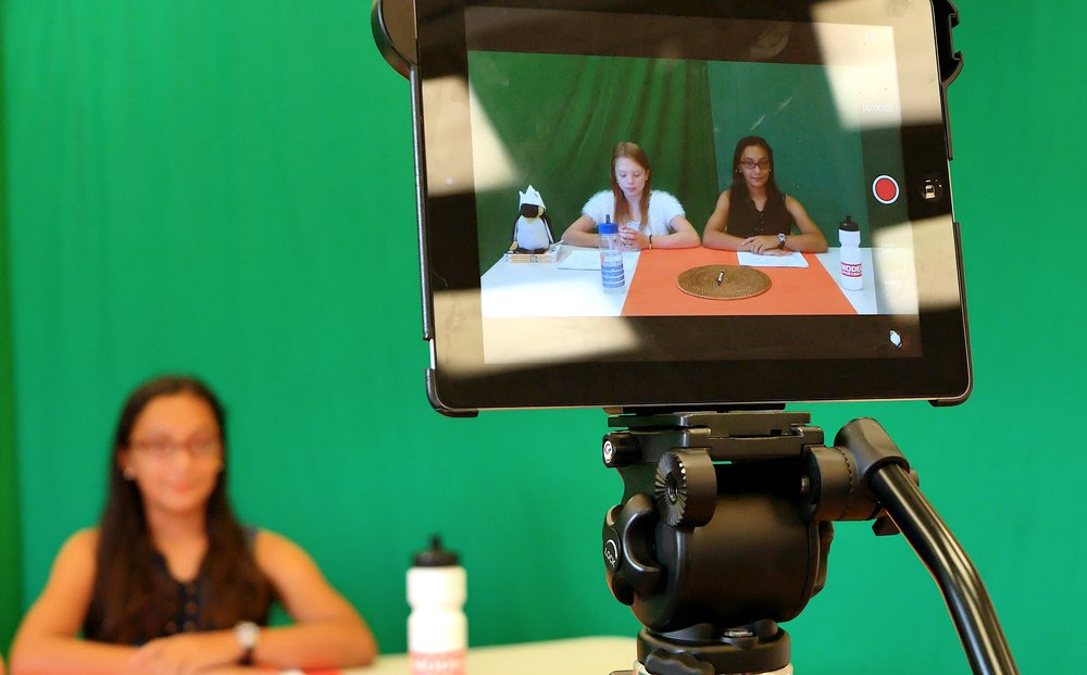Digital Kidz uses smart devices to film in our movie making camps!