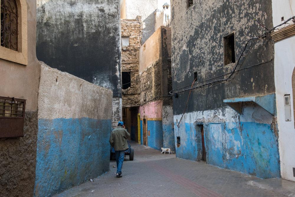 alleys of Essaouira