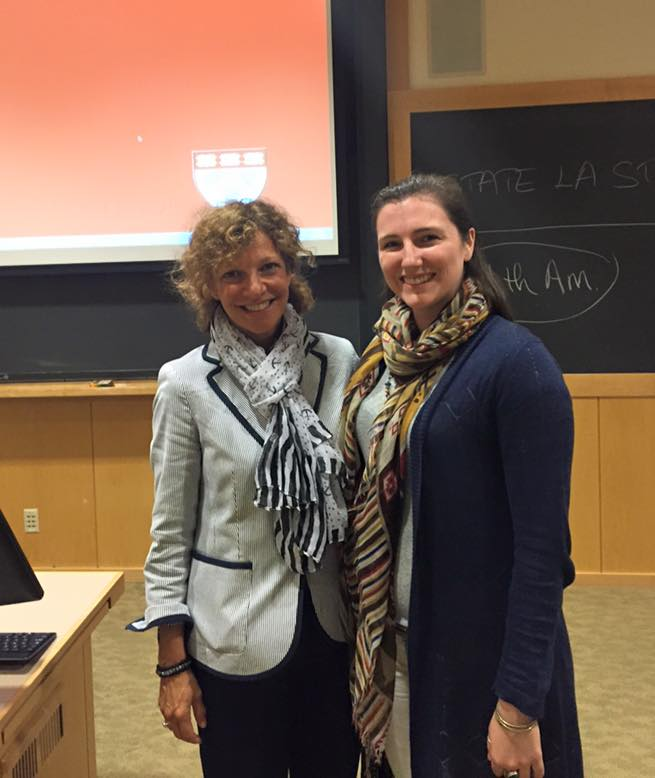 Presenting at Harvard Law