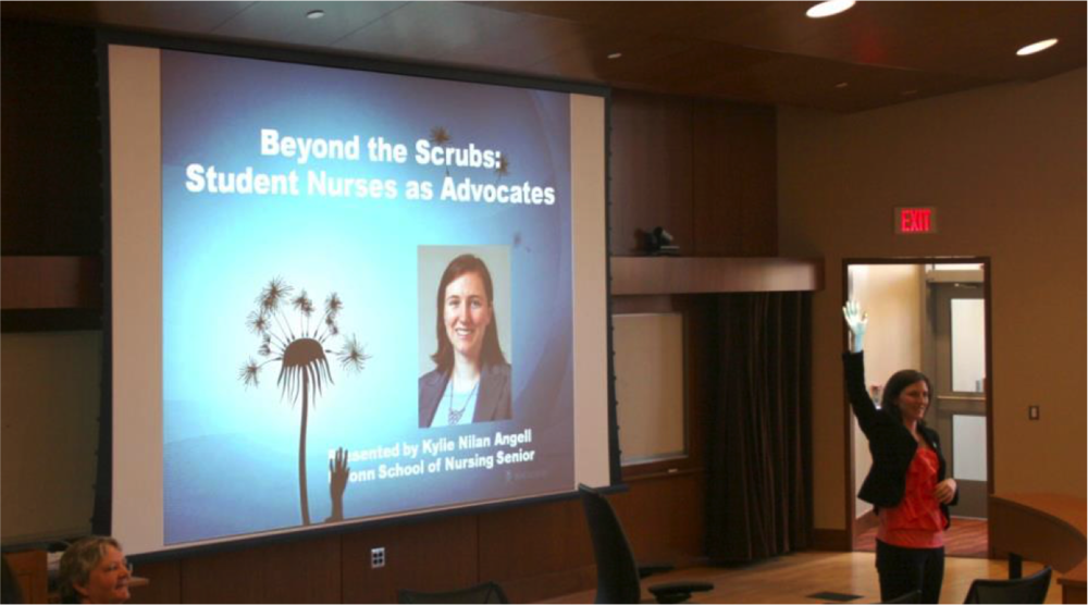 Beyond the Scrubs: Student Nurses as Advocates