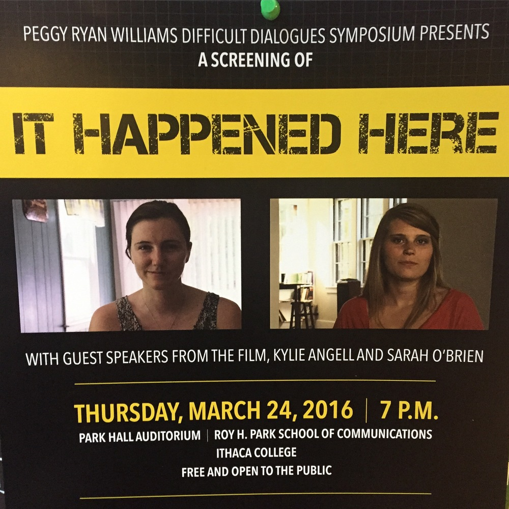 Returning to Ithaca for a Second Screening of Screening of It Happened Here at
