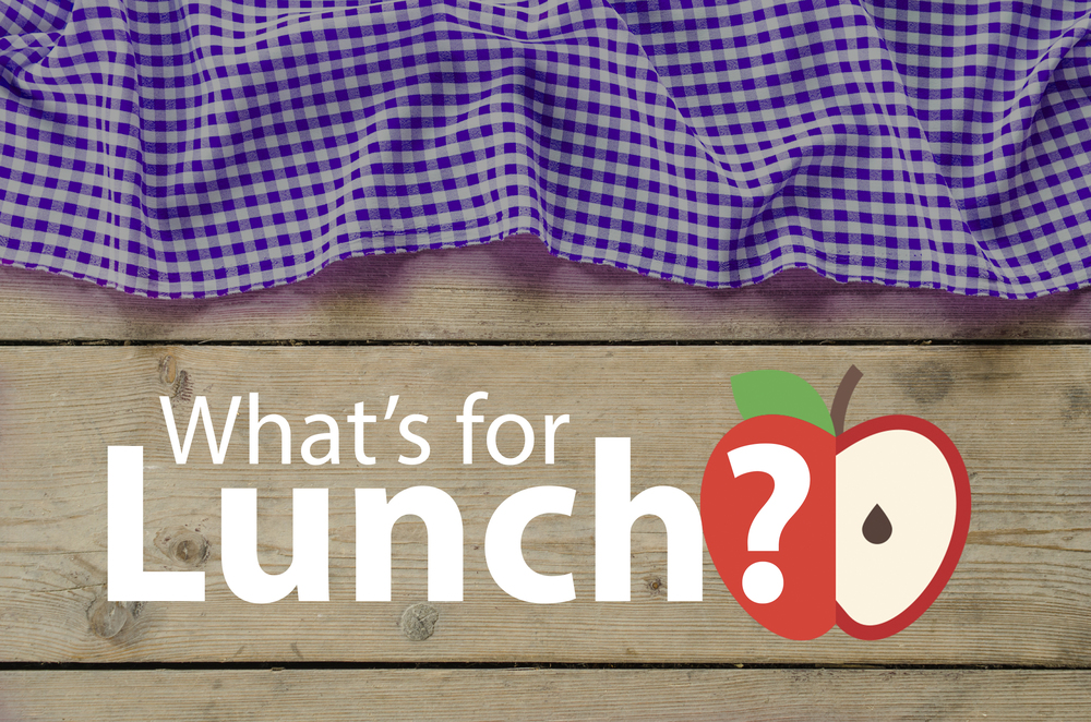 View this month's lunch menu