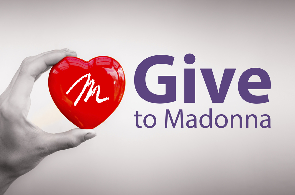 Support Madonna's mission