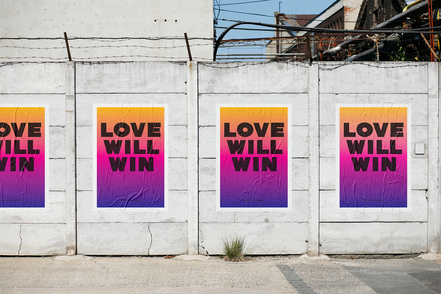 Love Will Win Banner Image