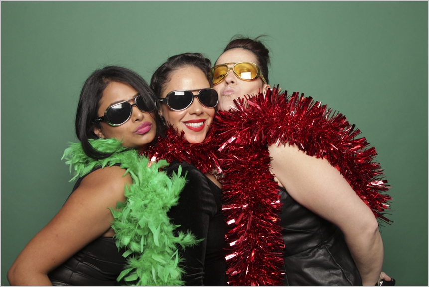holiday party photo booth new york city