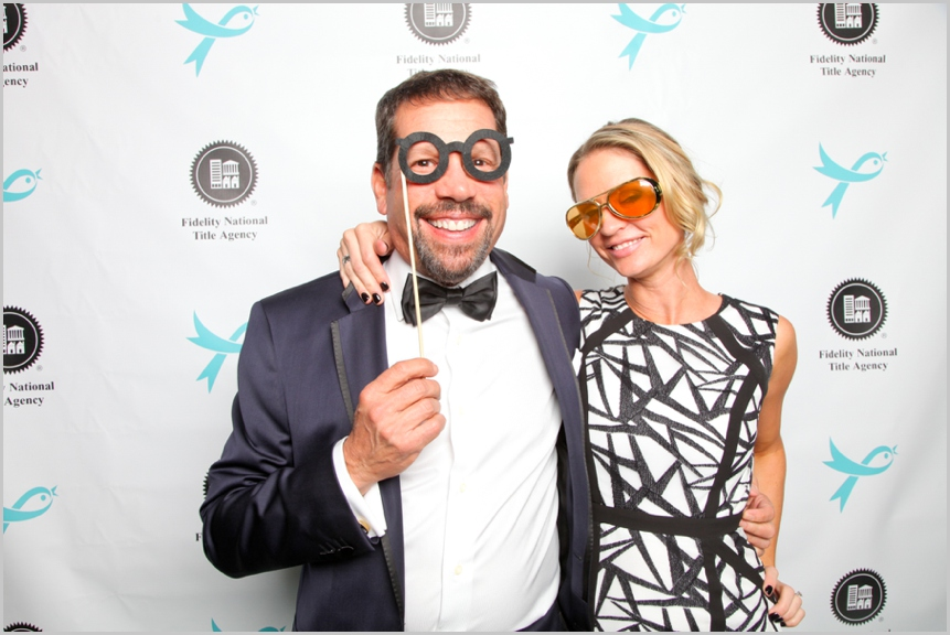 charity event photo booth