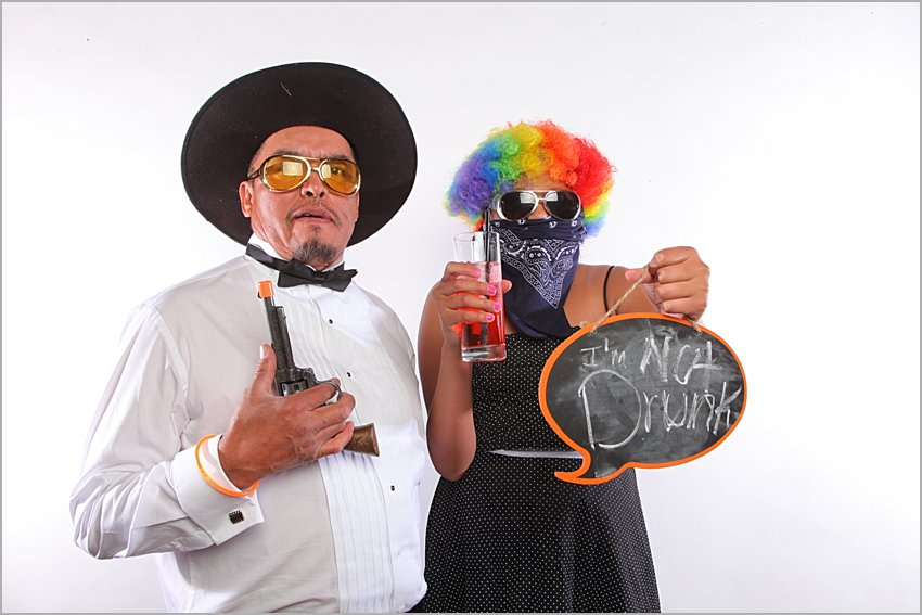 wedding photo booth at encanterra