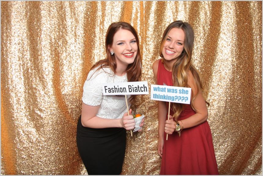 Weddings at the AZ Biltmore Photo booth