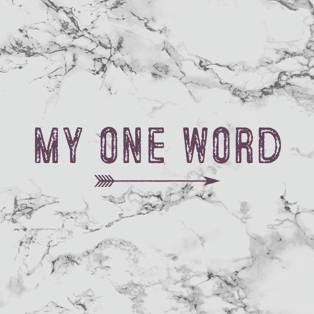 my-one-word-2016