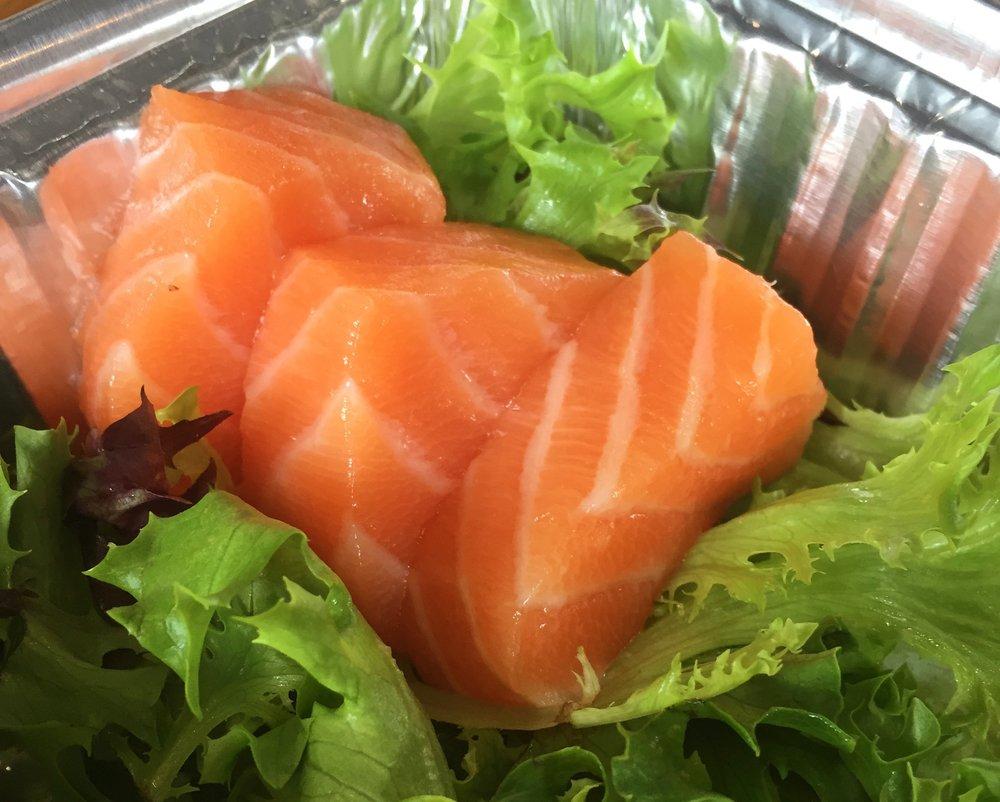 Salmon Sashimi - Bonsai Fusion Sushi