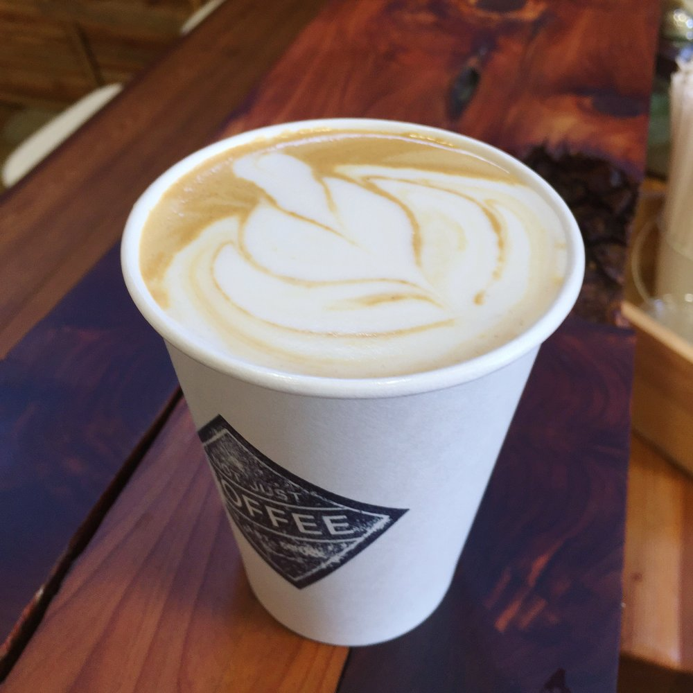 Vanilla Sugar Latte | Not Just Coffee | Atherton Mills