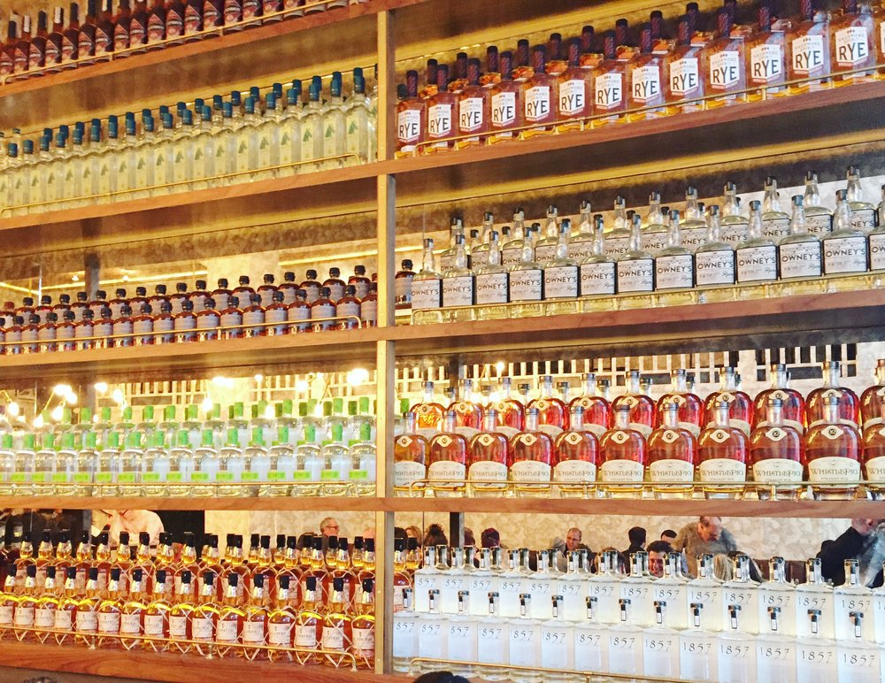 maison-pickle-nyc-liquor-wall