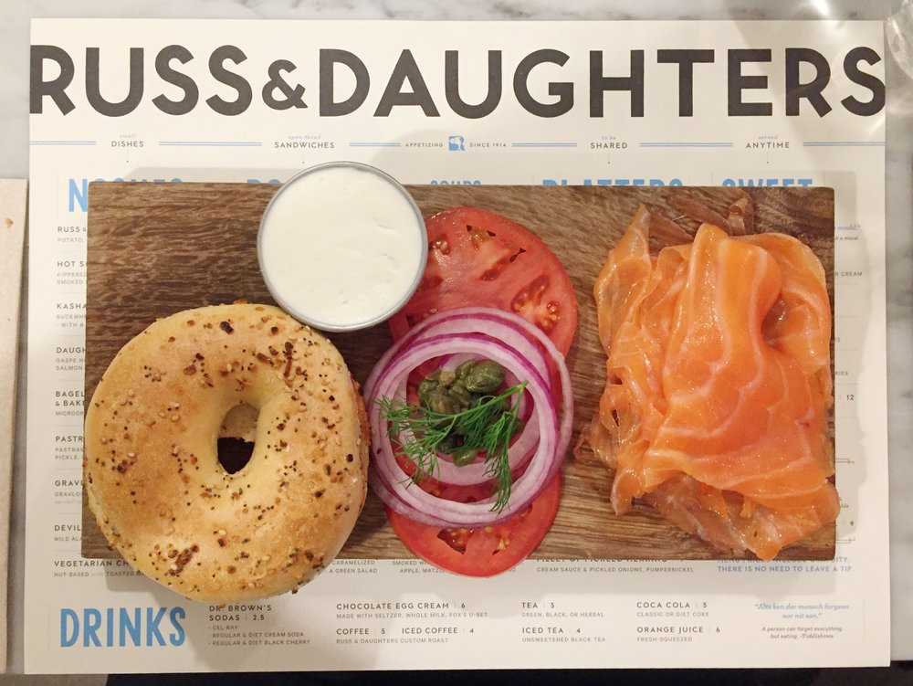 The Classic Board | Russ & Daughters Cafe
