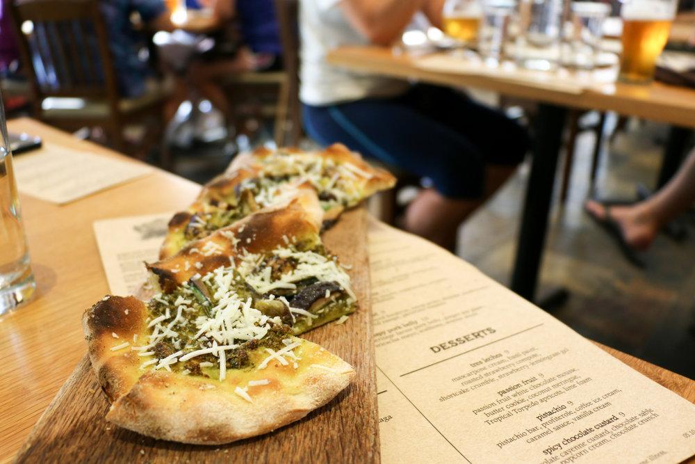 sierra-nevada-asheville-nc-ramps-flatbread