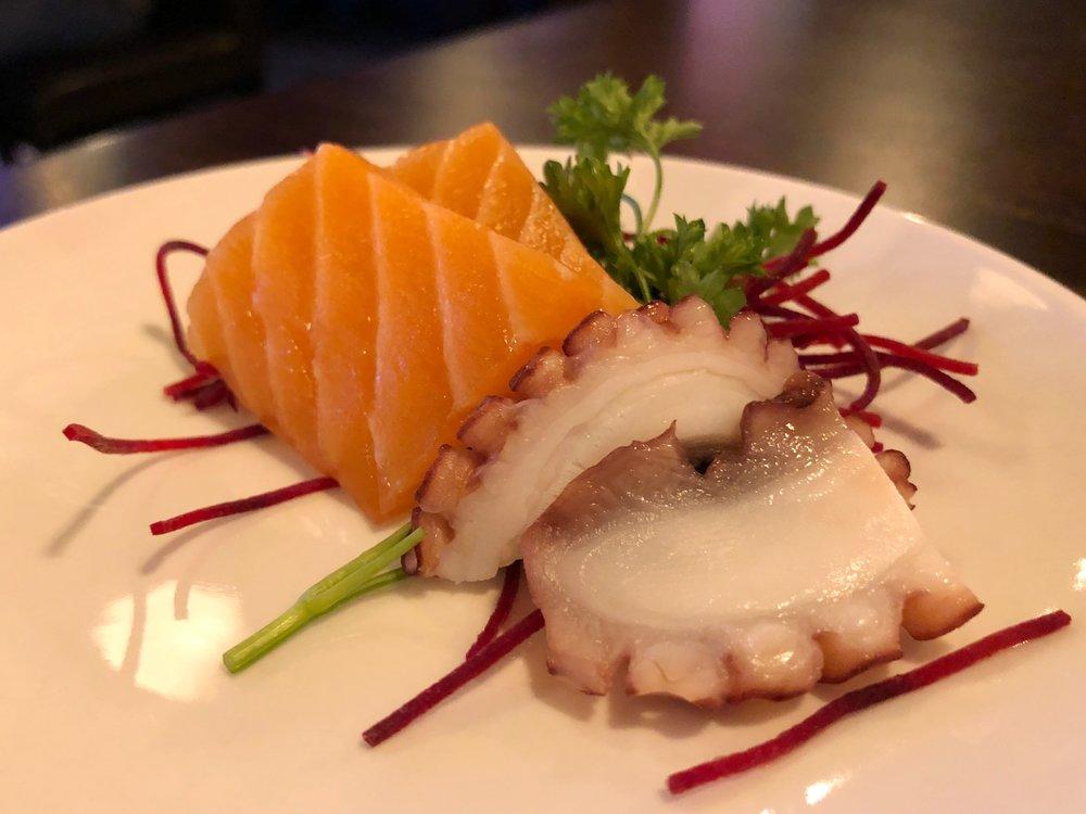 Sashimi | salmon & octopus