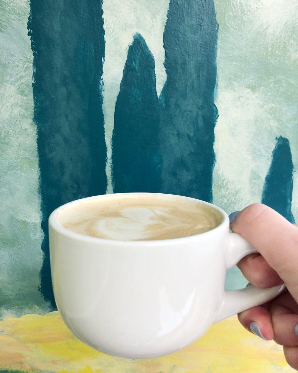 vanilla-soy-latte-sunflour-baking-company-harrisburg-nc