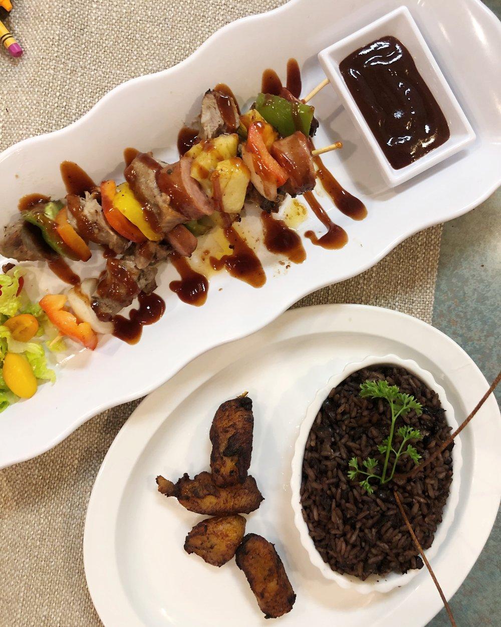 Caribbean-pork-Skewers-Brochetas-del-Caribe-havana-carolina-concord-nc
