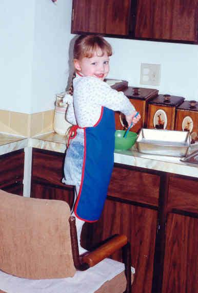 Making kitchen disasters, circa 1991