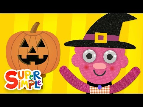 Super Simple Songs Halloween.Super Simple Learning Bendablerubber
