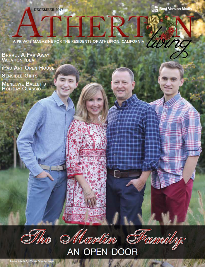 Click here for full magazine Atherton Living  sc 1 st  CASA of San Mateo County & The Martin Family: An Open Door u2014 CASA of San Mateo County