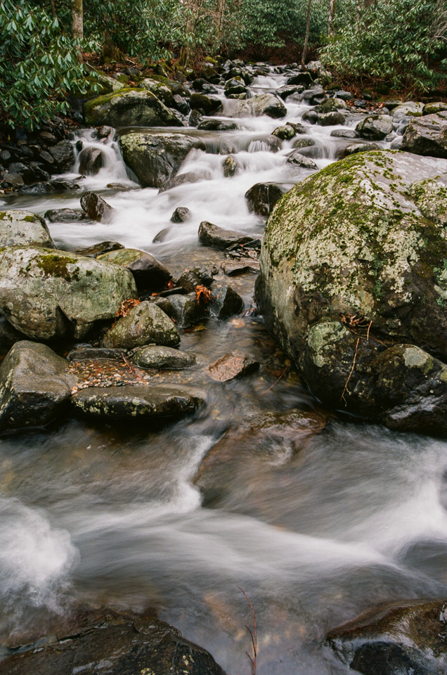Roaring Creek, North Carolina. Kodak Ektar 100. (copyright 2015 Jon Reaves Photography)