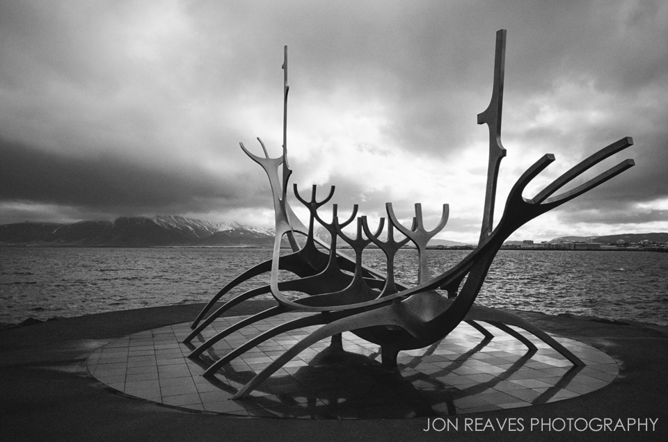 The Sun Voyager, Reykjavik. Ilford HP5+