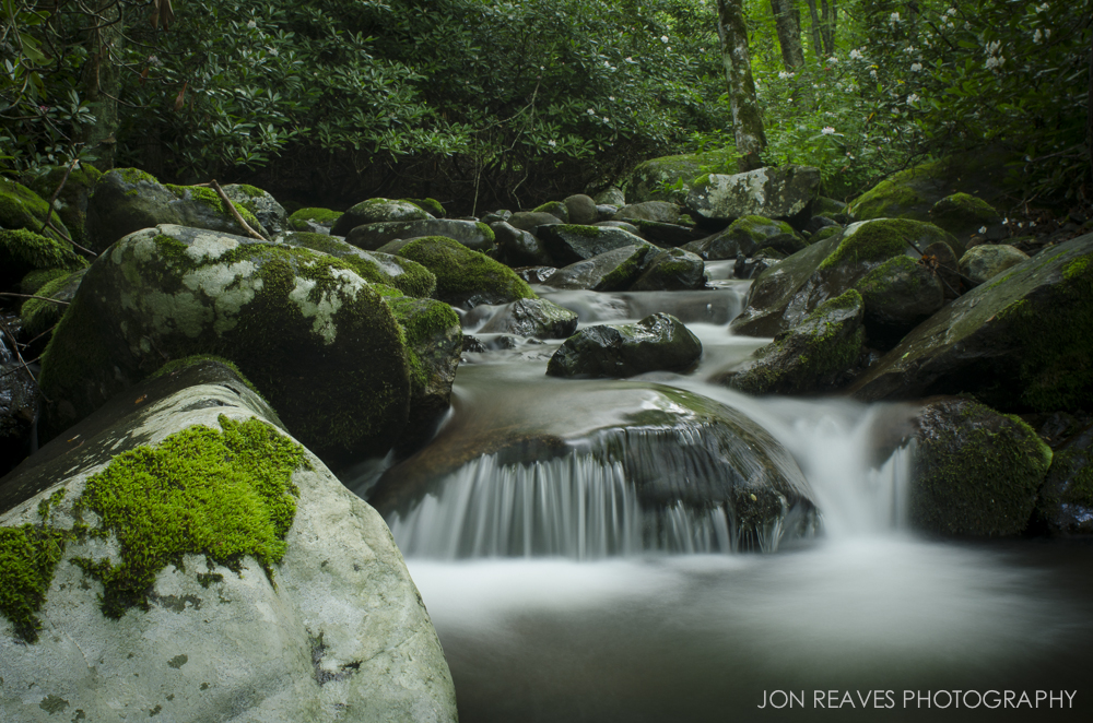 Roaring Creek, North Carolina. Nikon D7000, 24mm 2.8D, Hoya Circular Polarizer.