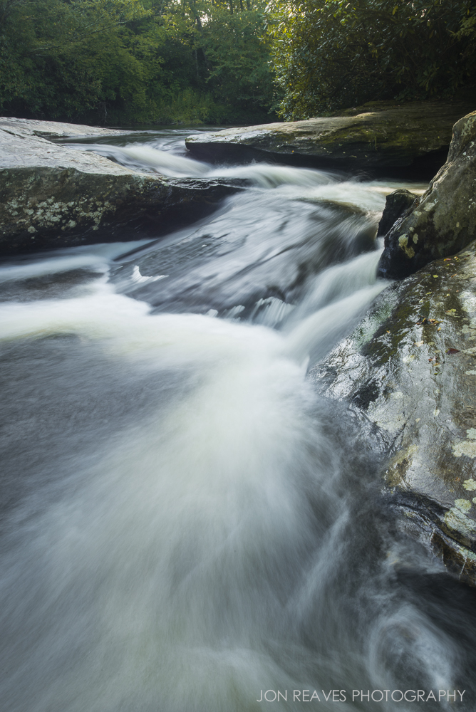 Unnamed Waterfall, North Carolina. Nikon D600, 18-35G @ 18mm, Nisi Circular Polarizer.