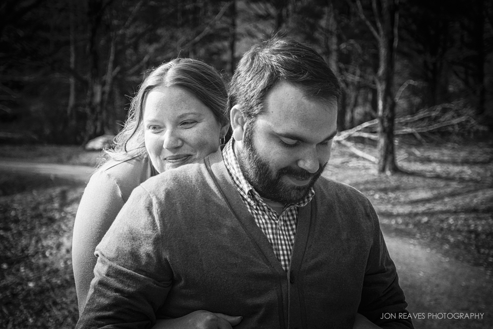 Engagement shoot at Bass Lake, 2013