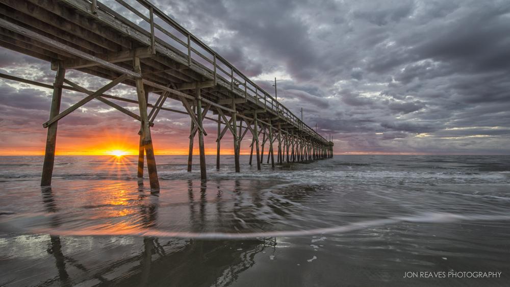 Sunrise on Sunset Beach, North Carolina