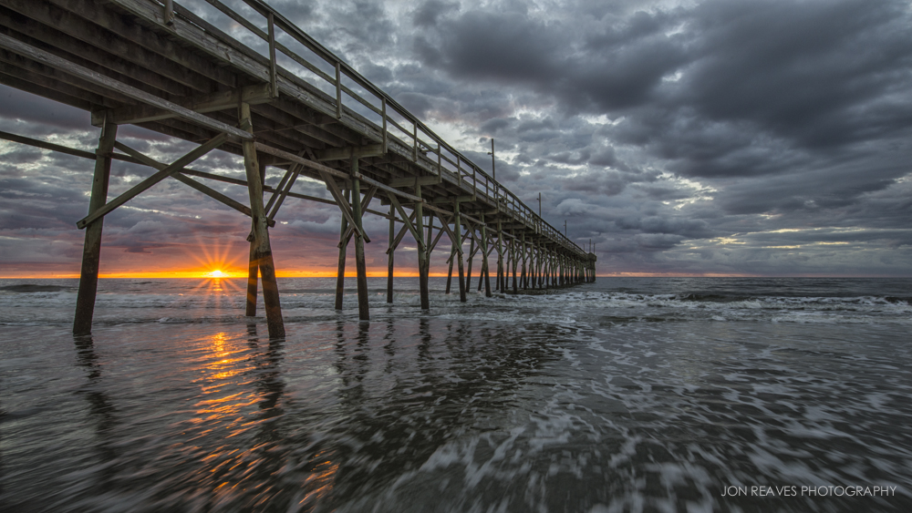 Sunrise on Sunset Beach, North Carolina, Stage 2
