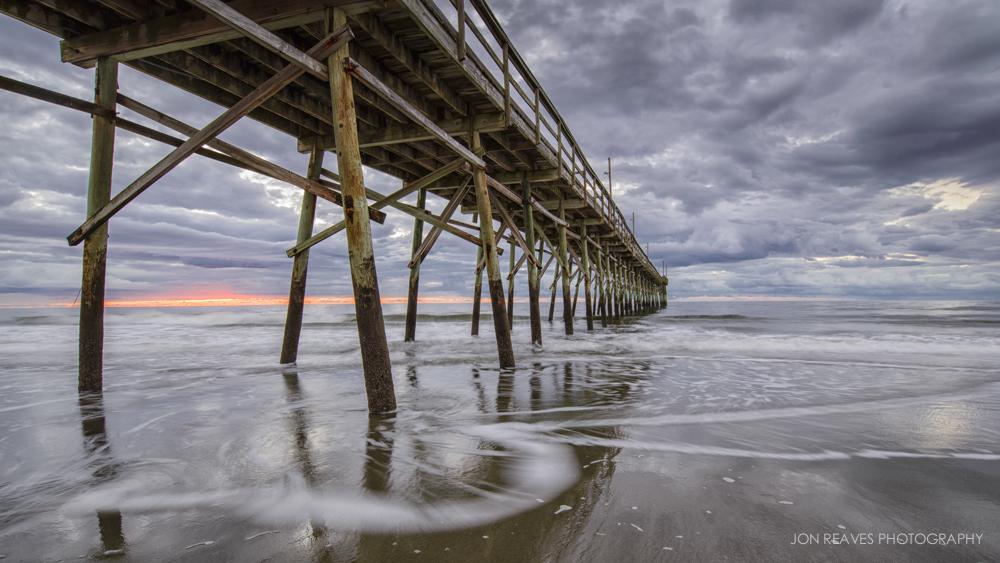 Sunrise on Sunset Beach, North Carolina, Stage 1