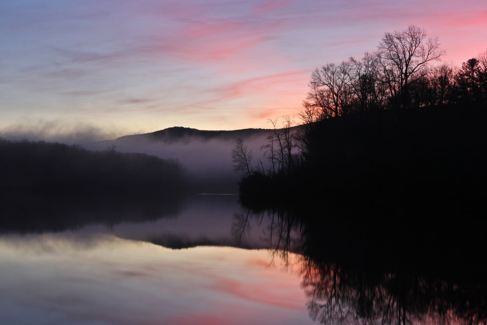 Price Lake Sunset, Blue Ridge Parkway, North Carolina