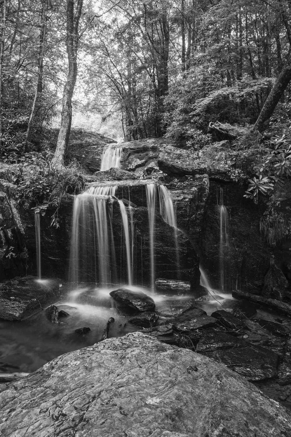 Newland Falls, Blue Ridge Mountains