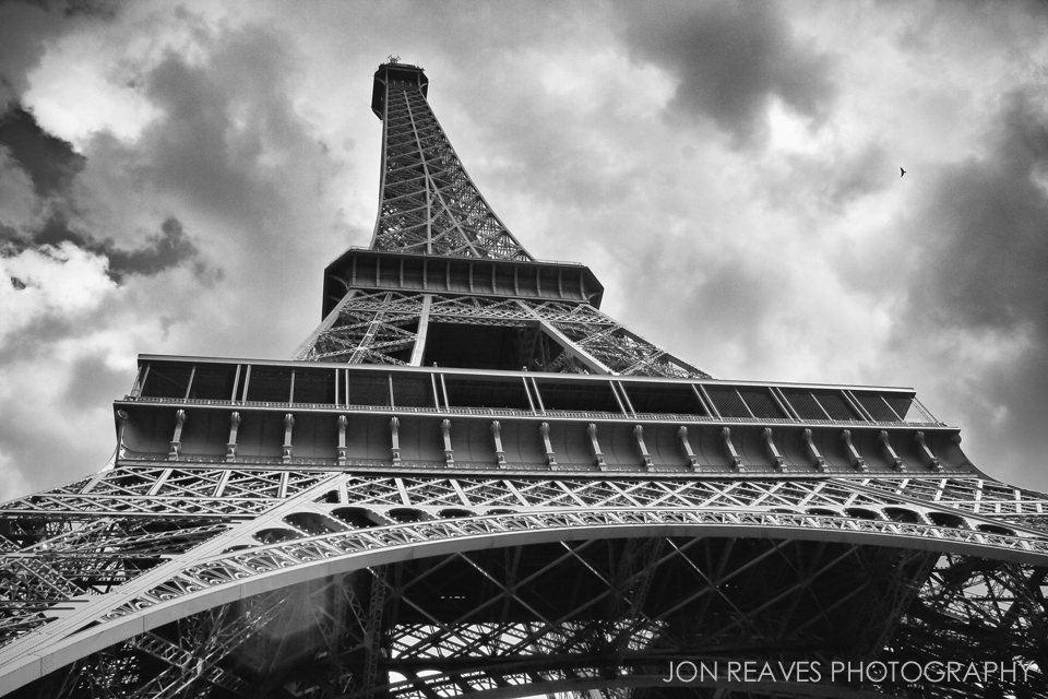 Eiffel Tower, Paris, 2008. One of my first travel images.