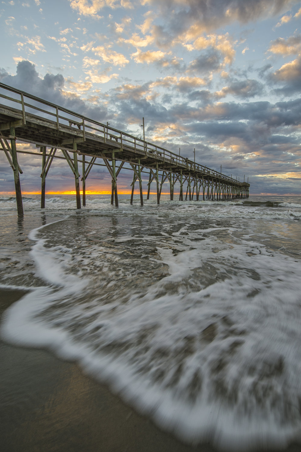 Sunrise at Sunset Beach, North Carolina