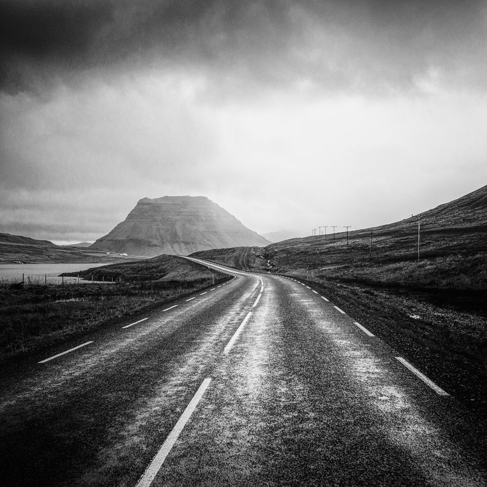 Road to Kirkjufell, Snaefellsness Peninsula