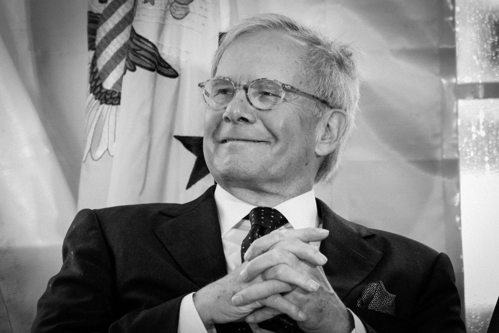 Tom brokaw in Washington, DC (2011).